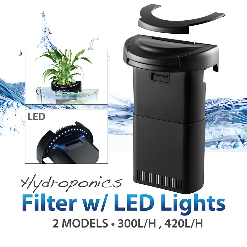 [Aquasyncro] CX Hydroponics Aquarium Filter with LED