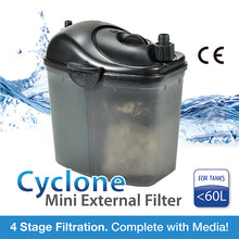 Load image into Gallery viewer, [Aquasyncro] CYCLONE CY20 Mini Canister Filter 200L/H