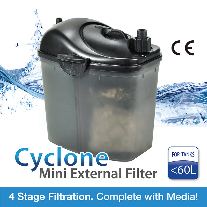[Aquasyncro] CYCLONE CY20 Mini Canister Filter 200L/H