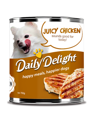 [Daily Delight] Wet Dog Food 180g (Assorted Flavours)