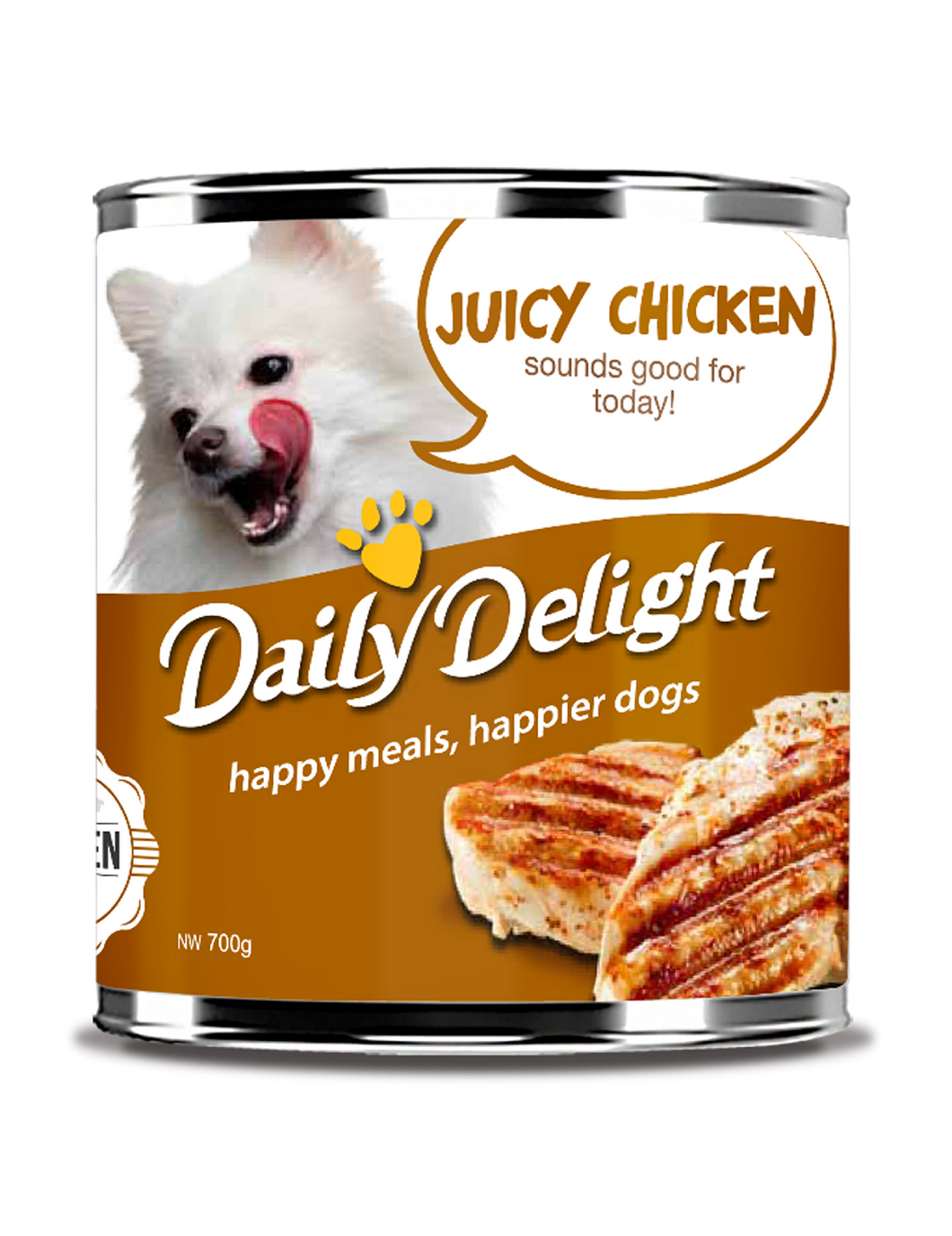 [Daily Delight] Wet Dog Food 700g (Assorted Flavours)