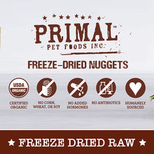 Load image into Gallery viewer, [Primal] Freeze-Dried Nuggets for Dogs (4 for $159.90)