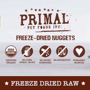 [Primal] Freeze-Dried Nuggets for Dogs (4 for $159.90)