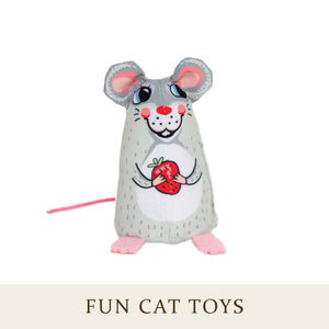 [Fuzzu] SWEETIE MOUSE Cat Toy with Organic Catnip