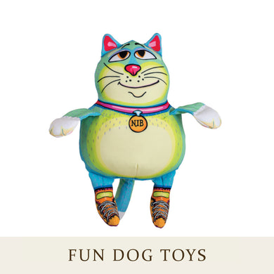 [Fuzzu] NIB Dog Toy with Squeaker