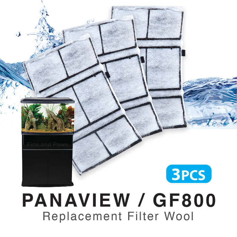 [Resun] 3pcs Replacement Filter Wool for Panaview87 | GF800 Internal Filter