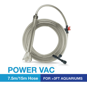 [Resun] Power Vac 2-in-1 Siphon Cleaner & Water Change Hose