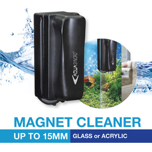[Aquasyncro] Magnetic Algae Cleaner for Glass and Acrylic (up to 15mm)