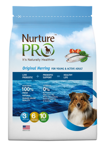 [Nurture Pro] Original Herring for Young & Active Adult Dry Food