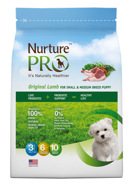 [Nurture Pro] Original Lamb for Puppy Small & Medium Breed Dry Food
