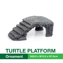 Load image into Gallery viewer, [Acquanova] Turtle Terrapins and Tortoise Aquarium Climbing and Basking Platform