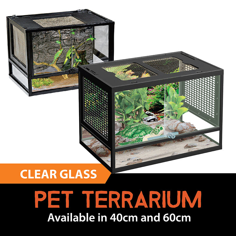 [Resun] Pet Terrarium Tanks (40 - 60cm)