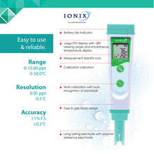 Load image into Gallery viewer, [Ionix Instruments] Salinity Tester