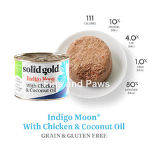 Load image into Gallery viewer, [Solid Gold] Indigo Moon Grain-Free Cat Canned Wet Food 6oz 170g (3 for $10)