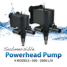 Load image into Gallery viewer, [Resun] Submersible Powerhead Pump 500L/H - 2000L/H