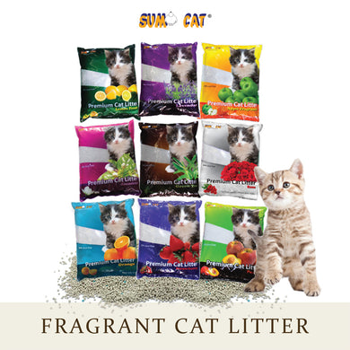 [Sumo Cat] Premium Cat Litter 10L - Assorted Fragrances