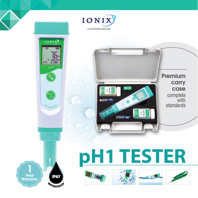 [Ionix Instruments] pH Tester