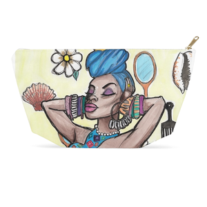 """Yemoja"" T-Bottom Accessory Pouch"