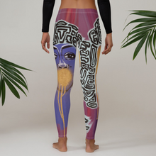 "Load image into Gallery viewer, ""See No//Hear No//Speak No"" Adult Leggings"