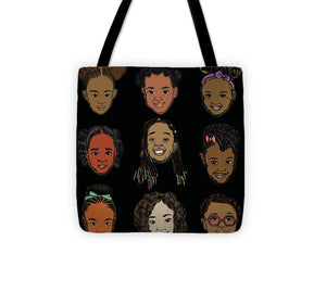 Little Sisters Black - Tote Bag