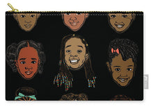 Load image into Gallery viewer, Little Sisters Black - Carry-All Pouch