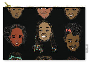 Little Sisters Black - Carry-All Pouch