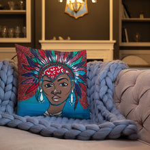 "Load image into Gallery viewer, ""Desdemona"" Premium Pillow"