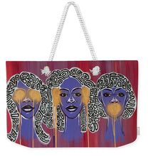 Load image into Gallery viewer, See No//hear No//speak No - Weekender Tote Bag