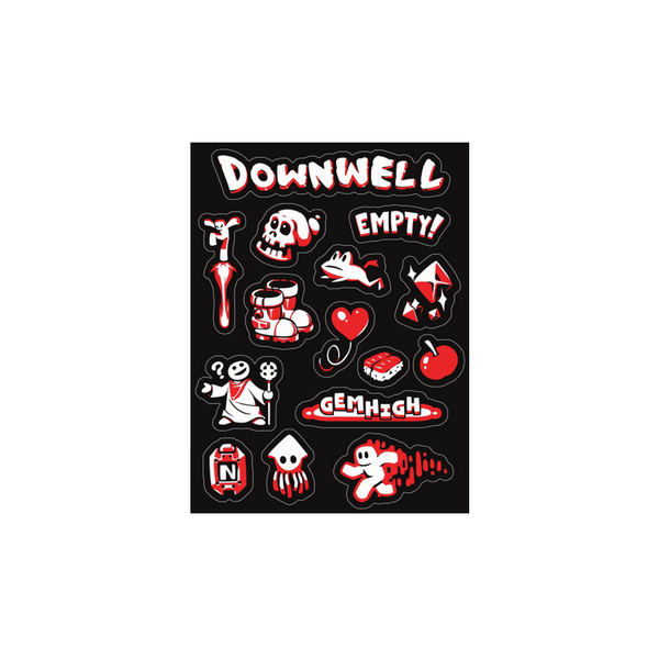 Downwell Stickers
