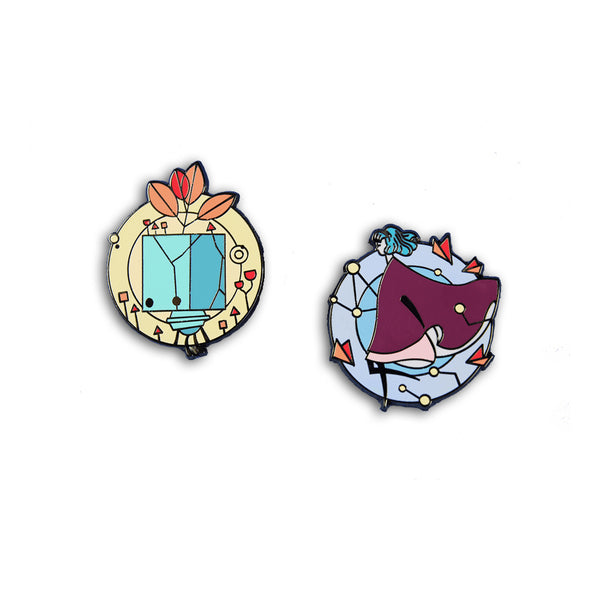GRIS: Hopeful Pin Badges
