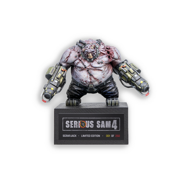 Serious Sam 4 Scrapjack Collectible Figure