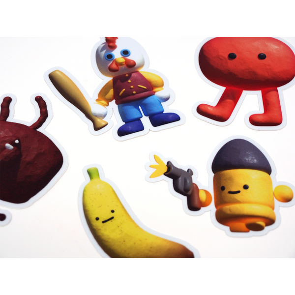 Mushbuh Sticker Pack