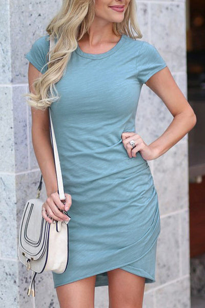Routine Ruched Bodycon Dress