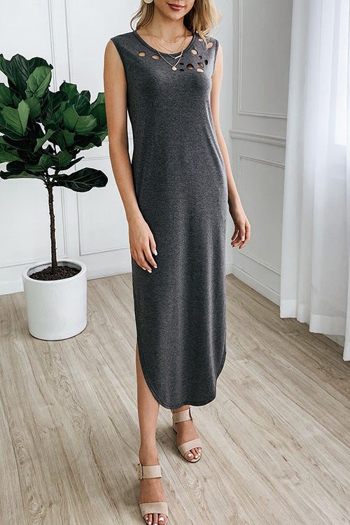 Routine Cozy Ripped Holes Dress