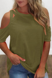 Chic Cold Shoulder T-shirt