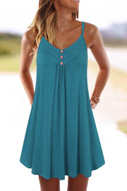 Spaghetti Straps Sleeveless Mini dress