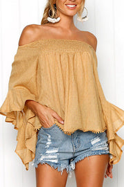 Falbala Off Shoulder Blouse