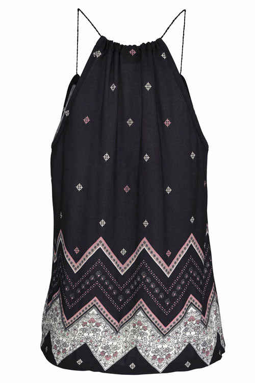 Bohemia Print Holiday Sleeveless T-shirt