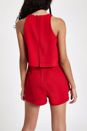 Short Romper Playsuit