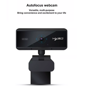Webcam Full HD - 1920 x 1080P - Op computer - Webcam voor pc - Webcamera - Vergaderen - Werk & Thuis - USB - Microfoon met Noice Cancelling - Windows & Apple/Mac