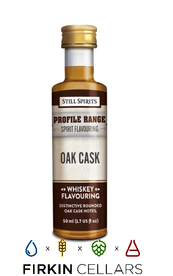 Still Spirits Whiskey Range Oak Cask Profile Home Brew Flavouring Essence