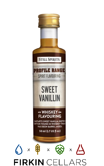 Still Spirits Whiskey Range Sweet Vanillin Profile Home Brew Flavouring Essence