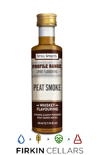 Still Spirits Whiskey Range Peat Smoke Profile Home Brew Flavouring Essence