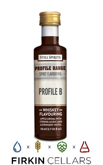 Still Spirits Whiskey Range Profile B Home Brew Flavouring Essence