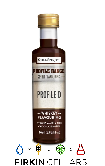 Still Spirits Whiskey Range Profile D Home Brew Flavouring Essence