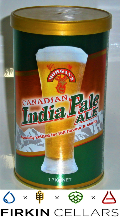 Morgans Canadian India Pale Ale Extract Beer Tin 1.7kg