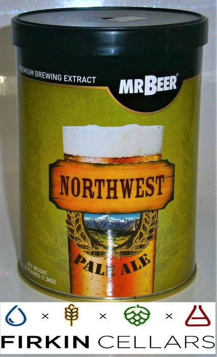 Coopers Mr Beer North West Pale Ale Extract Beer Tin (1.3kg)