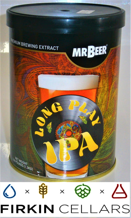 Coopers Mr Beer Long Play IPA Extract Beer Tin (1.3kg)