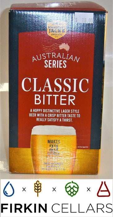 Mangrove Jacks Australian Series Classic Bitter Extract Beer Pouch (1.7kg)