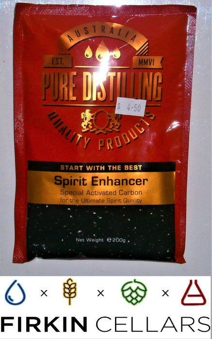 Pure Distilling Spirit Enhancer Liquid Carbon 200 grams
